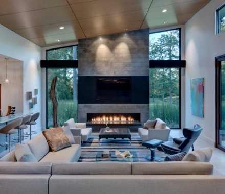 Modern Fireplace 2