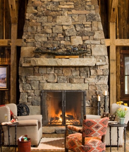 Lodge Fireplace 1
