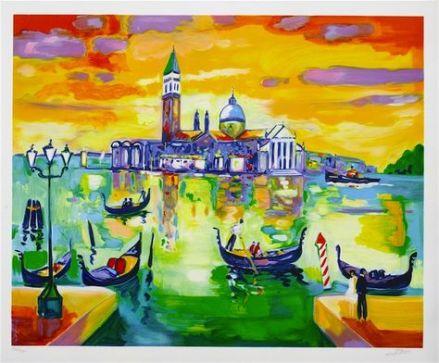 "Jean Claude Picot's ""San Giorgo a Venise"""