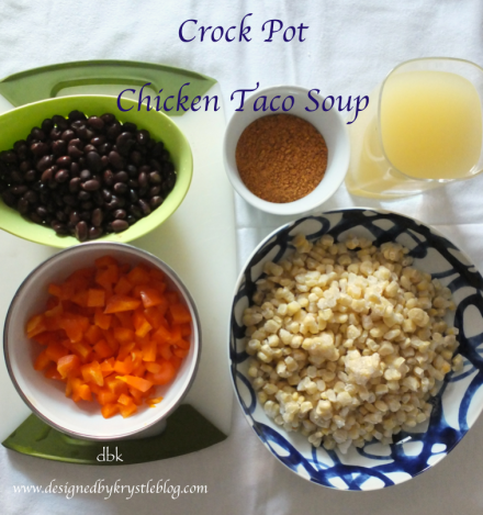 Chicken Taco Soup 1