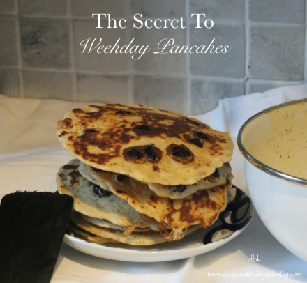 The Secret to Weekday pancakes 1