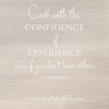 Confidence vs Experience