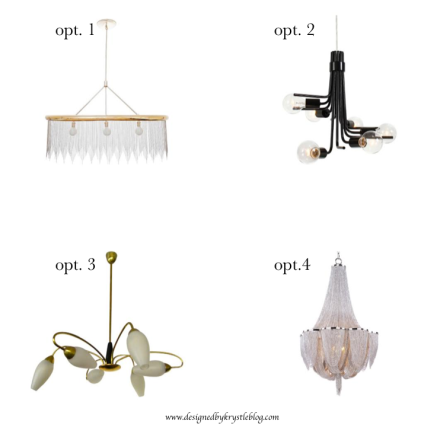 Lighting Options-Chandeliers