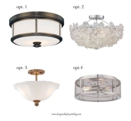 Lighting Options-Flush Mount
