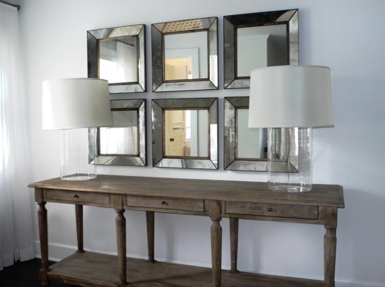 Wall Of Mirrors wall of mirrors | designedbykrystleblog