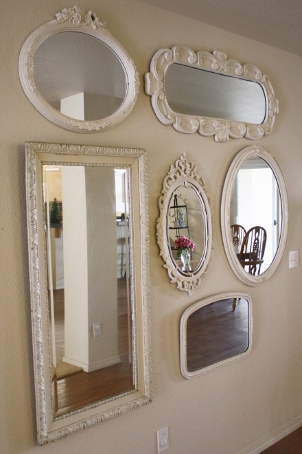 MIRROR GALLERY-VINTAGE WHITE