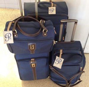 monogrammed luggage