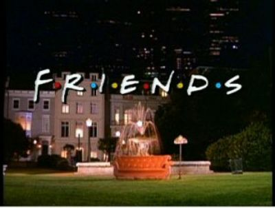 Friends Set Opening Scene