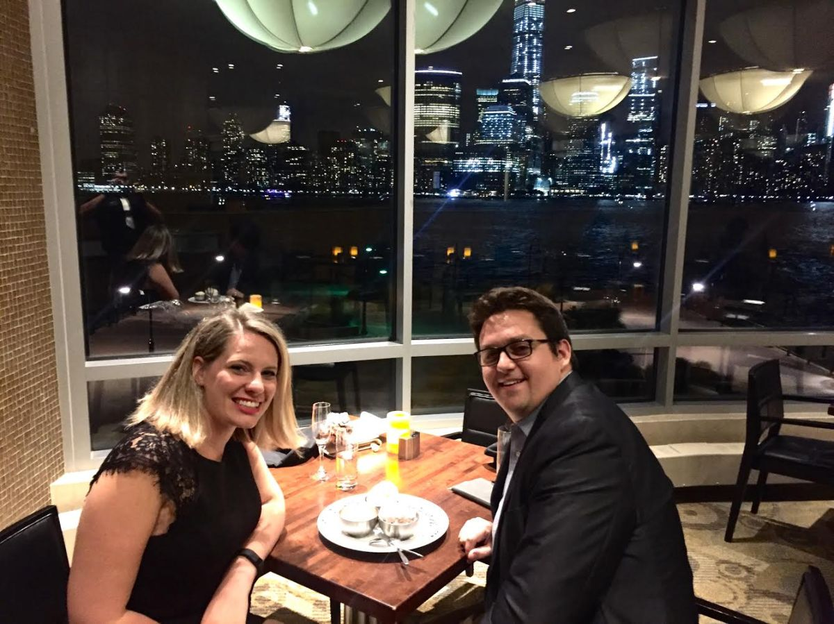 Anniversary Dinner At VU Jersey City