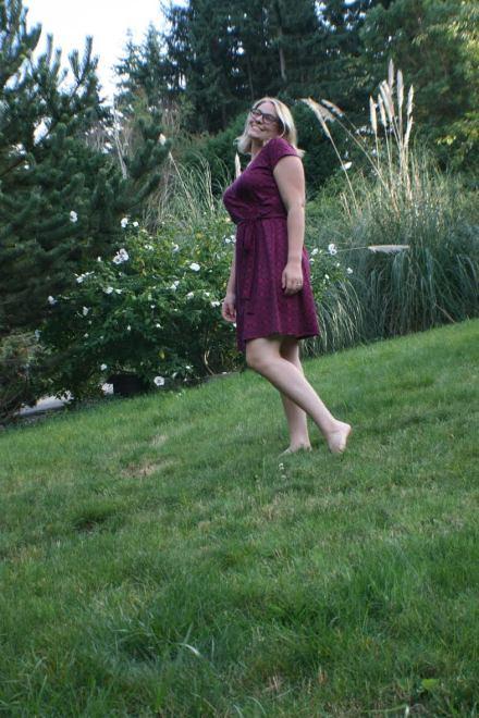 Cashmerette Appleton Wrap Dress