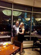 First Anniversary Dinner Date at Vu Downtown Jersey City