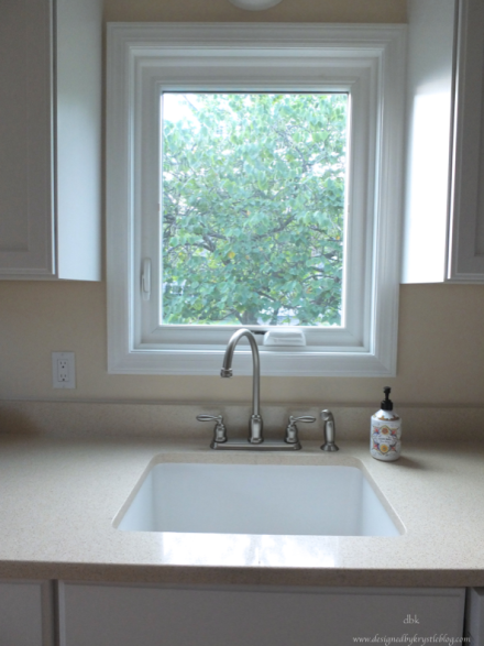 warm white kitchen zodiac counter granite composite sink