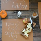 Chalk Lots Graham Cracker Placemat