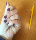 Plum Nail Polish work