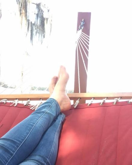 Hammock, Christmas, Florida, Holiday, Relax, Relaxation, Rest, Restful, Bare Feet,