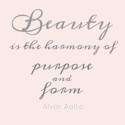 alvar aalto harmony quote