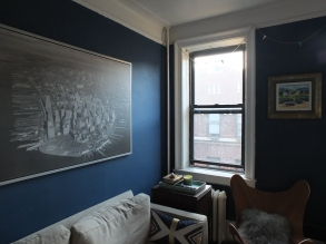 Living Room, DBK LIving Room, DBK at home, Jersey City Condo, small space, small living room, one room challenge, one room challenge spring 2016, one room challenge guest, orc guest participant, orc spring 2016, orc spring 2016 guest, contemporary living room, mod living room, before pictures, as is pictures, dbk orc,