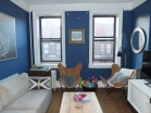 Living Room, DBK LIving Room, DBK at home, Jersey City Condo, small space, small living room, one room challenge, one room challenge spring 2016, one room challenge guest, orc guest participant, orc spring 2016, orc spring 2016 guest, contemporary living room, mod living room, before pictures, as is pictures, dbk orc, butterfly chairs,