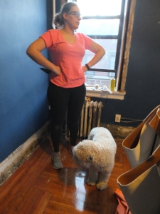 One Room Challenge 2016, ORC, ORC 2016, One Room Challenge, DBK at Home, Jersey City Condo Renovations, Condo, Apartment, Prewar Renovations, Soft Coated Wheaten Terrier, Stripping a Radiator