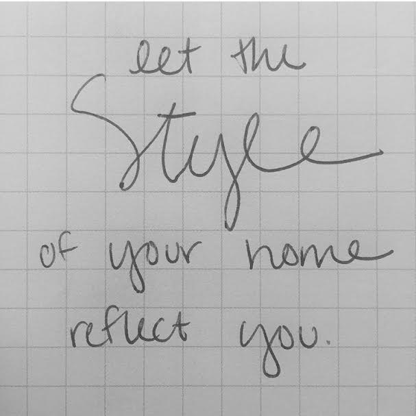 Handlettering, Handwriting, Let the style of your home reflect you, graph paper, practice makes perfect,