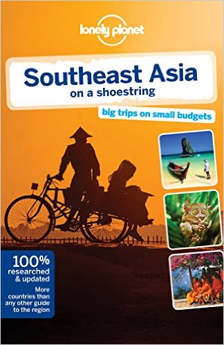 Lonely Planet, Travel Books, Southeast Asia on a shoestring, Southeast Asia, Malaysia, Thailand, Vietnam, Cambodia, Singapore, Indonesia, Travel, Summer Travels