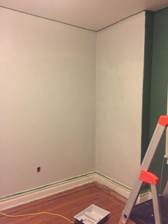 One Room Challenge, ORC week three, Bedroom Design Progress, Nursery Design Progress, Work in Progress, Design in Progress, Construction, Paint, Primer, Primed Walls, Interior Painting